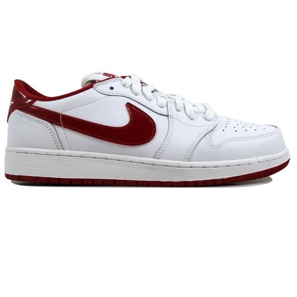 Low Jordan 1 Retro Air Red Nike Whitevarsity Og tsrdxQhC